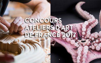 le Concours Ateliers d'Art de France ouvre un volet Patrimoine