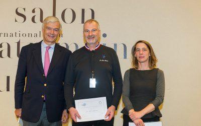 Remise du Prix Métiers d'Art et Patrimoine Bâti