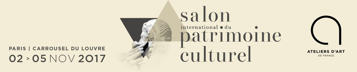 Press kit salon international du patrimoine culturel for Salon du patrimoine 2017