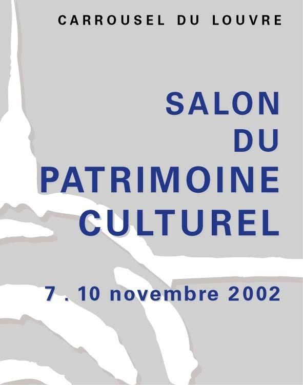 2002 salon international du patrimoine culturel - Salon carrousel du louvre ...