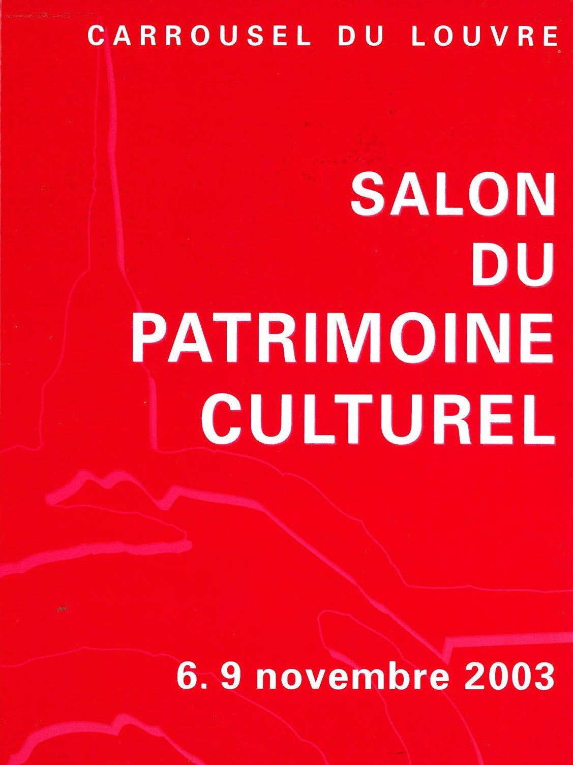2003 2 salon international du patrimoine culturel for Salon du patrimoine