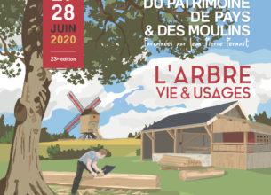 Les inscriptions aux Journées du Patrimoine de Pays et des Moulins sont ouvertes