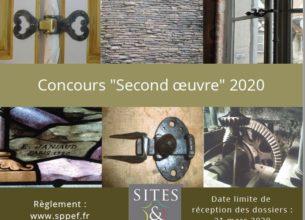 Concours « Second œuvre » – Sites et Monuments