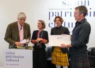 Découvrez le lauréat 2019 du prix « Métiers d'art et Patrimoine bâti »