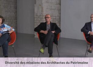Diversités des missions des Architectes du Patrimoine