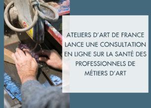 Faire de la santé des professionnels de métiers d'art une priorité